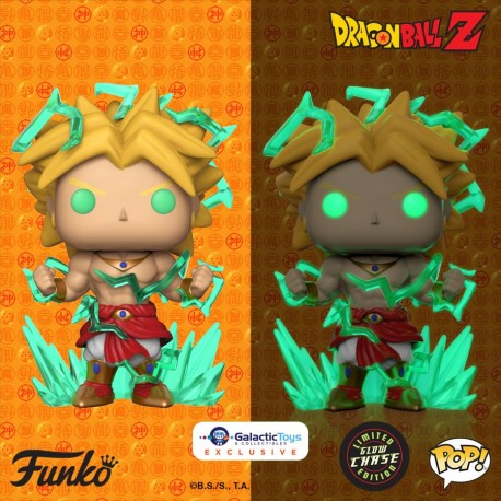"Dragon Ball Z - Legendary Super Saiyan Broly (with chase) 6"" US Exclusive Pop! Vinyl"
