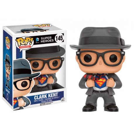 Superman - Clark Kent with Suit US Exclusive Pop! Vinyl Figure