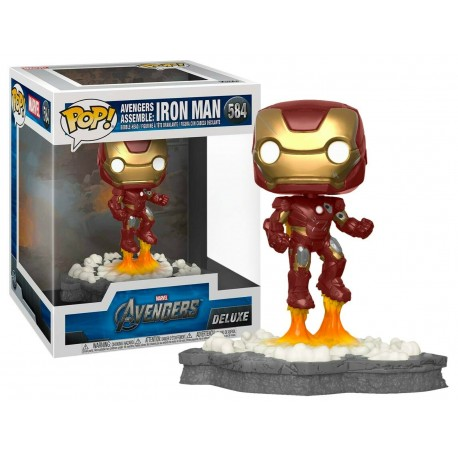 Avengers - Iron Man (Assemble) US Exclusive Pop! Deluxe