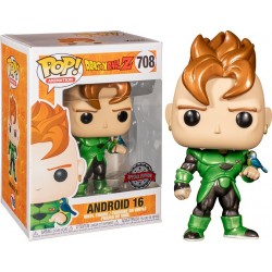 Dragon Ball Z - Android 16 Metallic Pop! Vinyl