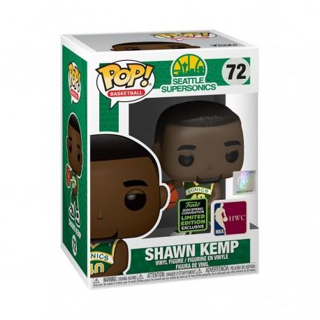 NBA: Sonics - Shawn Kemp ECCC 2020 Exclusive Pop! Vinyl