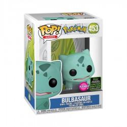 Pokemon - Bulbasaur Flocked ECCC 2020 Exclusive Pop! Vinyl