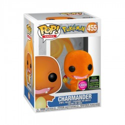 Pokemon - Charmander Flocked ECCC 2020 Exclusive Pop! Vinyl