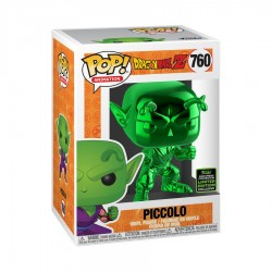 Dragon Ball Z - Piccolo Green Chrome ECCC 2020 Exclusive Pop! Vinyl