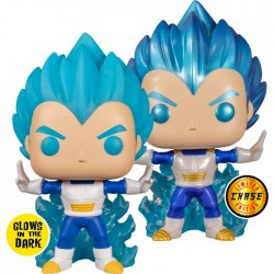Dragon Ball Z - Vegeta Powering Up Glow (with chase) US Exclusive Pop! Vinyl