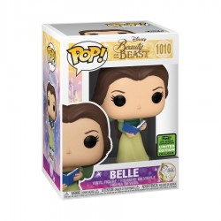 Beauty and the Beast - Belle Green Dress w/ Book ECCC 2021 US Exclusive Pop! Vinyl