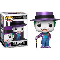 Batman (1989) - Joker with Hat Metallic US Exclusive Pop! Vinyl