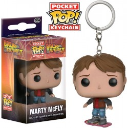 Back To The Future - Marty McFly on Hoverboard Pocket Pop! Keychain