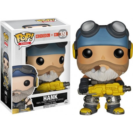 Evolve - Hank Pop! Vinyl Figure