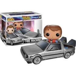 Back to the Future - Delorean Car with Marty McFly Pop! Ride