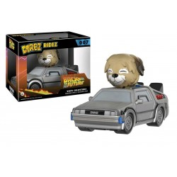 Back To The Future - Delorean with Einstein Dorbz Ridez