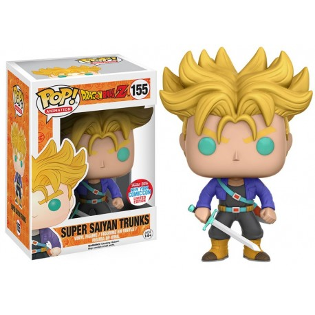 NYCC 2016 - Dragonball Z - Super Saiyan Trunks Funko Pop! Vinyl