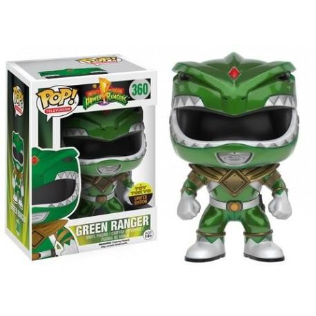 NYCC 2016 - Power Rangers - Green Ranger Metallic Funko Pop! Vinyl