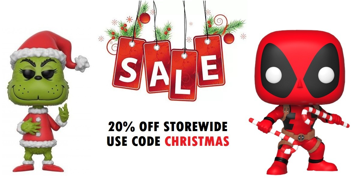Christmas 20% Off Sale