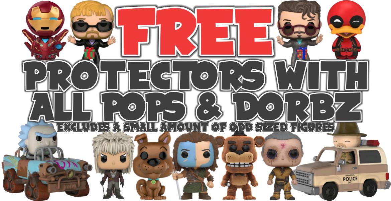 Free Protectors at Popzilla!
